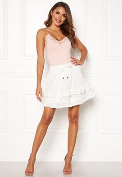 Odd Molly Swag Blossom Skirt Light Chalk Bubbleroom.dk