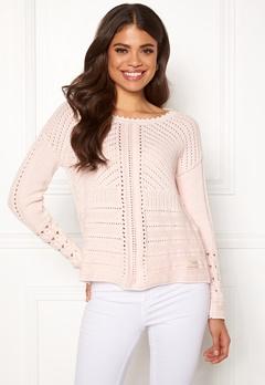 Odd Molly Symmetry Moves Sweater Pink Porcelain Bubbleroom.dk