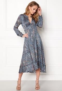 Odd Molly Triumph Long Dress Misty Blue Bubbleroom.dk