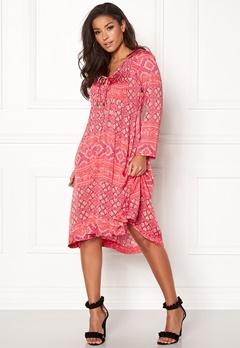 Odd Molly Warm Hearted Dress Raspberry Bubbleroom.dk
