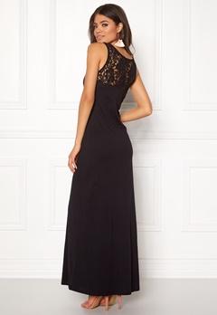ONLY Abbie Lace Maxi Dress Black Bubbleroom.dk
