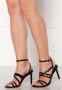 ONLY Alyx PU Heeled Sandal Black Bubbleroom.dk
