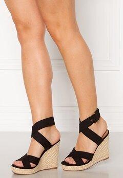 ONLY Amelia Wrap Heeled Sandal Black Bubbleroom.dk