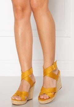 ONLY Amelia Wrap Heeled Sandal Sunshine Bubbleroom.dk