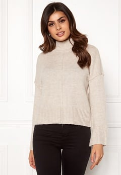ONLY Babylou L/S Pullover Pumice Stone Bubbleroom.dk