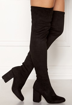 ONLY Bette Long Shaft Bootie Black Bubbleroom.dk