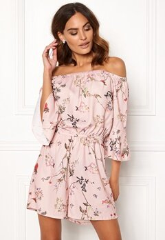 ONLY Butterfly Playsuit Rose Smoke Bubbleroom.dk