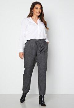 Only Carmakoma Goldtrash Soft Check Long Pant Black Checks bubbleroom.dk