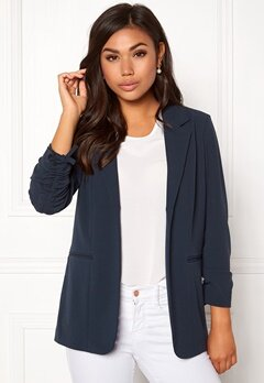 ONLY Carolina 4/5 Blazer Blue Nights Bubbleroom.dk