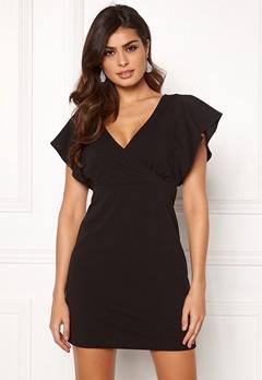 ONLY Carolina S/L Dress Black Bubbleroom.dk