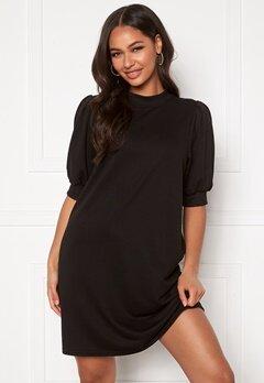 ONLY Dea 2/4 Sweat Dress Black Bubbleroom.dk