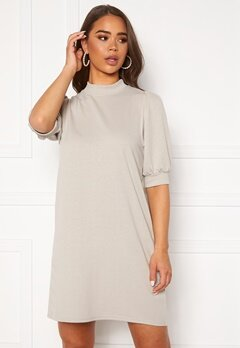 ONLY Dea 2/4 Sweat Dress Silver Lining Bubbleroom.dk