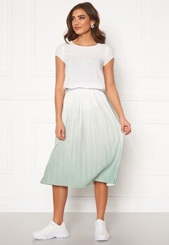 ONLY Dippy Skirt Cloud Dancer Bubbleroom.dk