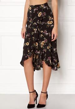 ONLY Ella Flounce Skirt Flowers Bubbleroom.dk