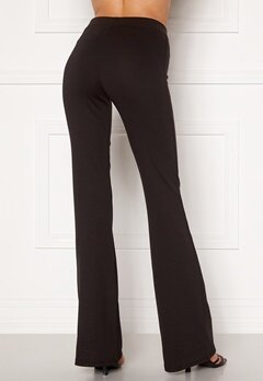 ONLY Fever Stretch Flaired Pants Black Bubbleroom.dk