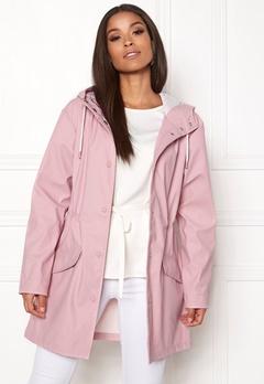ONLY Fine Raincoat Pink Nectar Bubbleroom.dk
