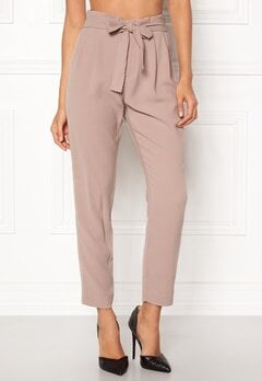 ONLY Florence Belt Ankle Pant Fawn Bubbleroom.dk