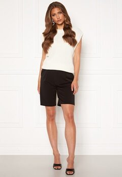 ONLY Ivy Tailored Long Shorts Black<br>  bubbleroom.dk