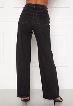 ONLY Juicy HW Black Wide Leg Jeans Black Denim Bubbleroom.dk