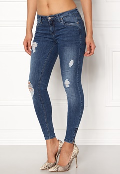 ONLY Kendell Reg Ankle Jeans Medium Blue Denim Bubbleroom.dk