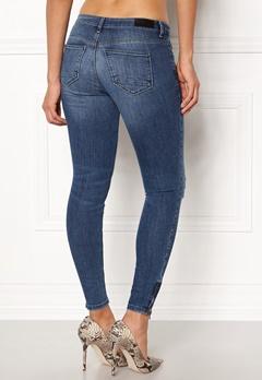 ONLY Kendell Reg Ankle Jeans Medium Blue Denim Bubbleroom.dk