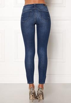 ONLY Kendell Regular Skinny Ankle Jeans Medium Blue Denim Bubbleroom.dk