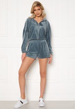 ONLY Laya Shorts Blue Mirage bubbleroom.dk