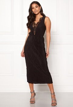 ONLY Lena S/L Lace Dress Black Bubbleroom.dk