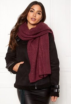 ONLY Lima Knit Long Scarf Chocolate Truffle Bubbleroom.dk