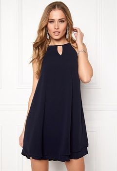 ONLY Mariana Myrina s/l Dress Night Sky Bubbleroom.dk