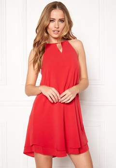 ONLY Mariana Myrina s/l Dress Poinsettia Bubbleroom.dk