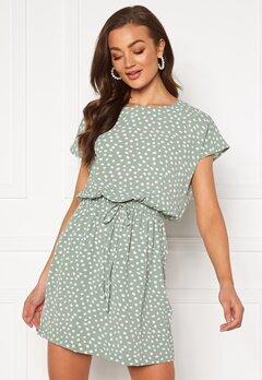 ONLY Mariana Myrina S/S Dress Chinois Green Bubbleroom.dk