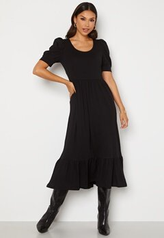 ONLY May Life S/S Puff Dress Black Bubbleroom.dk