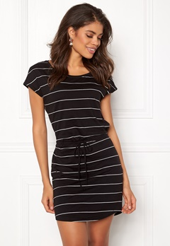 ONLY May S/S Dress Black Stripes Bubbleroom.dk