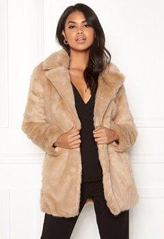 ONLY Milana Faux Fur Coat Pure Cashmere Bubbleroom.dk