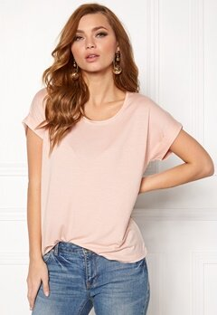 ONLY Moster s/s Top Peach Whip Bubbleroom.dk