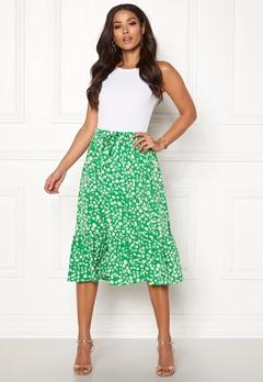 ONLY Nadja Skirt Simply Green Bubbleroom.dk