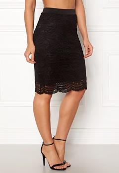 ONLY New Sierra Skirt Black Bubbleroom.dk
