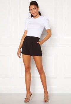 ONLY Nova Lux Smock Shorts Black Bubbleroom.dk