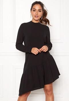 ONLY Nova Lux SolidElena Dress Black Bubbleroom.dk