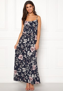ONLY Nova Lux Strap Maxi Dress Night Sky Bubbleroom.dk