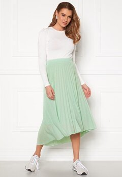 ONLY Paradise Pleated Skirt Aqua Foam Bubbleroom.dk