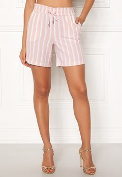 ONLY Piper Shorts Rose Dust/Stripes Bubbleroom.dk