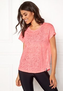 ONLY PLAY Beate Loose SS Tee Lipstick Pink Bubbleroom.dk