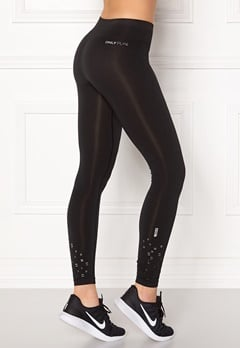 ONLY PLAY Everdeen Seamless Tights Black Bubbleroom.dk
