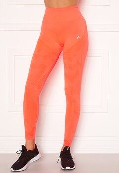 ONLY PLAY Jase Circular HW Tights Fiery Coral Bubbleroom.dk