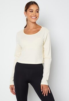 ONLY PLAY Jeo LS Wrap Top Whisper White bubbleroom.dk