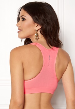 ONLY PLAY Martine Padded Sports Bra Lipstick Pink Bubbleroom.dk
