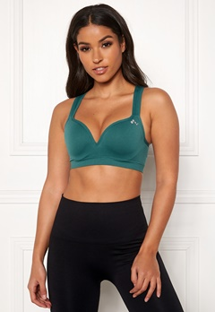 ONLY PLAY Martine Seamless Bra Shaded Spruce Bubbleroom.dk