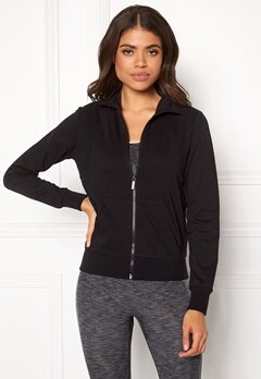 ONLY PLAY Noreen High Neck Sweat Black Bubbleroom.dk